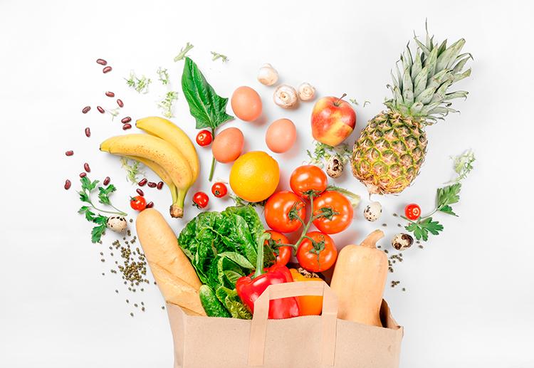 Dicas de como ter uma alimentação mais saudável.