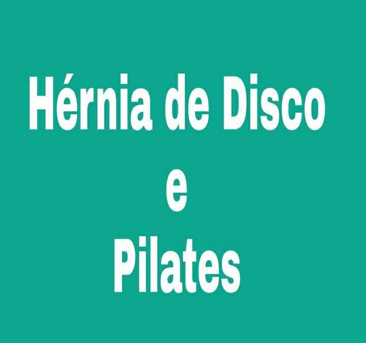 Hérnia de Disco e Pilates